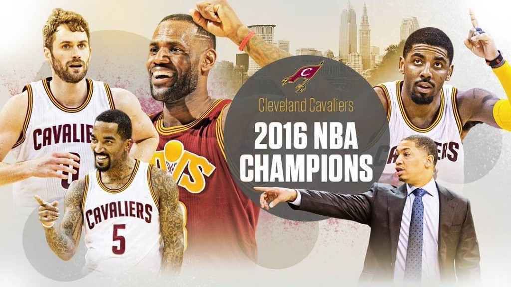 Congrats to the cavs ALLin216 NBAfinals2016 kingjames